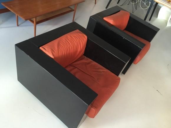 Elastique Vintage Moebel Zuerich Massimo Vignelli Saratoga Chair 1