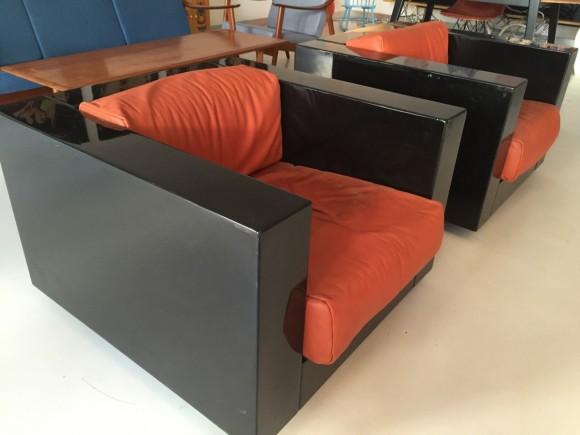 Elastique Vintage Moebel Zuerich Massimo Vignelli Saratoga Chair 3