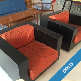 Massimo Vignelli Saratoga Chairs