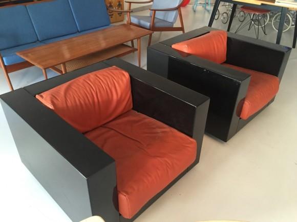 Elastique Vintage Moebel Zuerich Massimo Vignelli Saratoga Chair 4