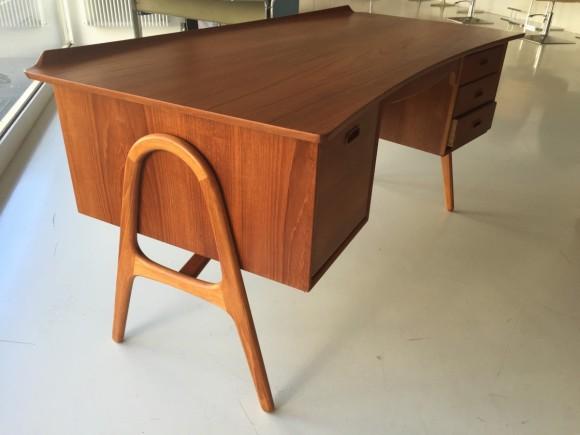 Elastique Vintage Moebel Zuerich Svend Aage Madsen Sigurd Hansen Desk Danish Teak 3