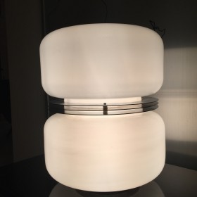 Glaslampe von Guzzini Italien