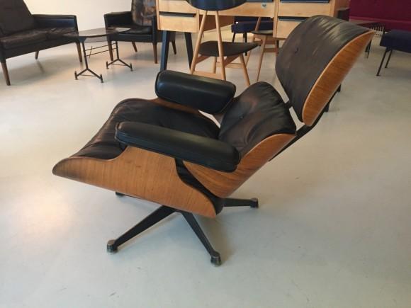 Elastique Vintage Furniture Moebel Zuerich Eames Lounge Chair Rosewood Palisander Miller Vitra 11