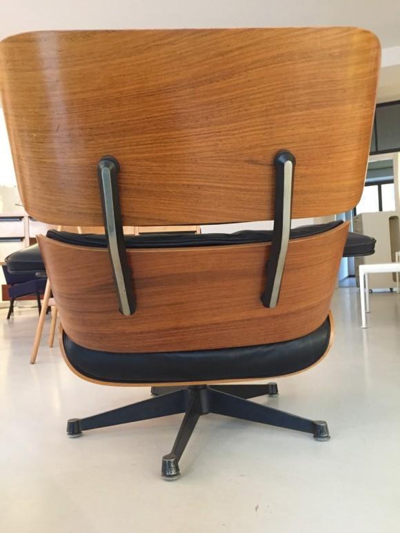 Elastique Vintage Furniture Moebel Zuerich Eames Lounge Chair Rosewood Palisander Miller Vitra 3