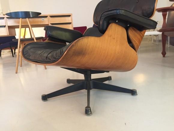 Elastique Vintage Furniture Moebel Zuerich Eames Lounge Chair Rosewood Palisander Miller Vitra 4