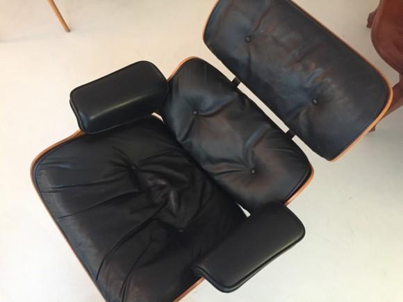 Elastique Vintage Furniture Moebel Zuerich Eames Lounge Chair Rosewood Palisander Miller Vitra 5