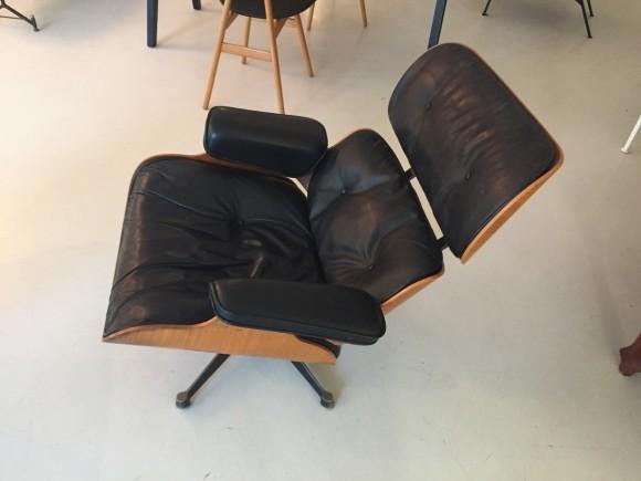 Elastique Vintage Furniture Moebel Zuerich Eames Lounge Chair Rosewood Palisander Miller Vitra 6