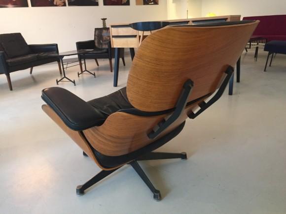 Elastique Vintage Furniture Moebel Zuerich Eames Lounge Chair Rosewood Palisander Miller Vitra 7