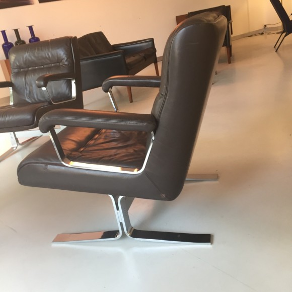2 Lounge Sessel von Stoll 1970
