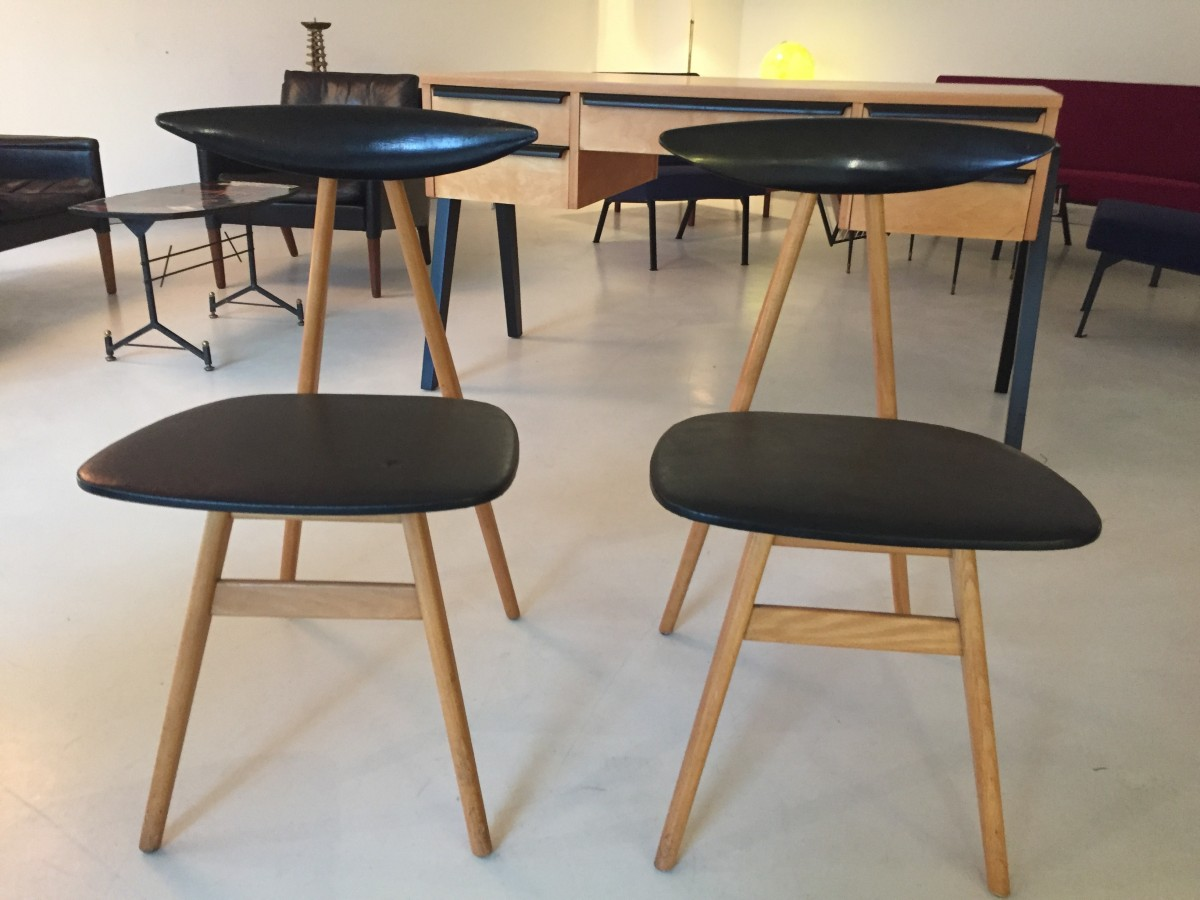 elastique vintage m bel furniture z rich schweiz st hle von girsberger 1950. Black Bedroom Furniture Sets. Home Design Ideas