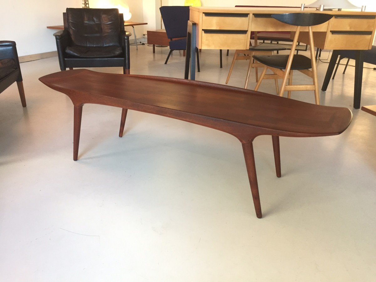 Coffee Table Von Hovman Olsen Elastique Zürich Vintage Möbel