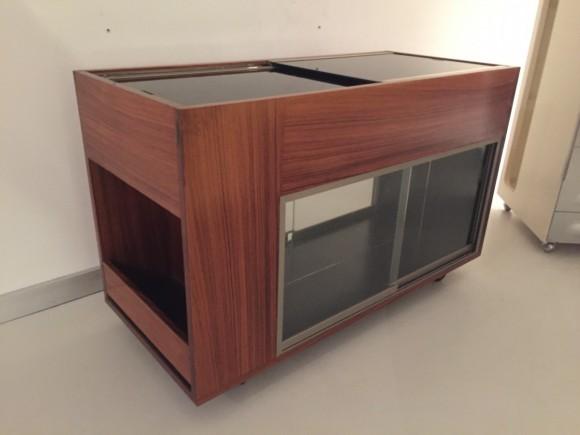 Elastique Vintage Furniture Moebel Zuerich Schweiz Bar Cart Rosewood Barwagen Palisander 3