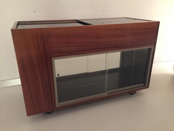 Elastique Vintage Furniture Moebel Zuerich Schweiz Bar Cart Rosewood Barwagen Palisander 4