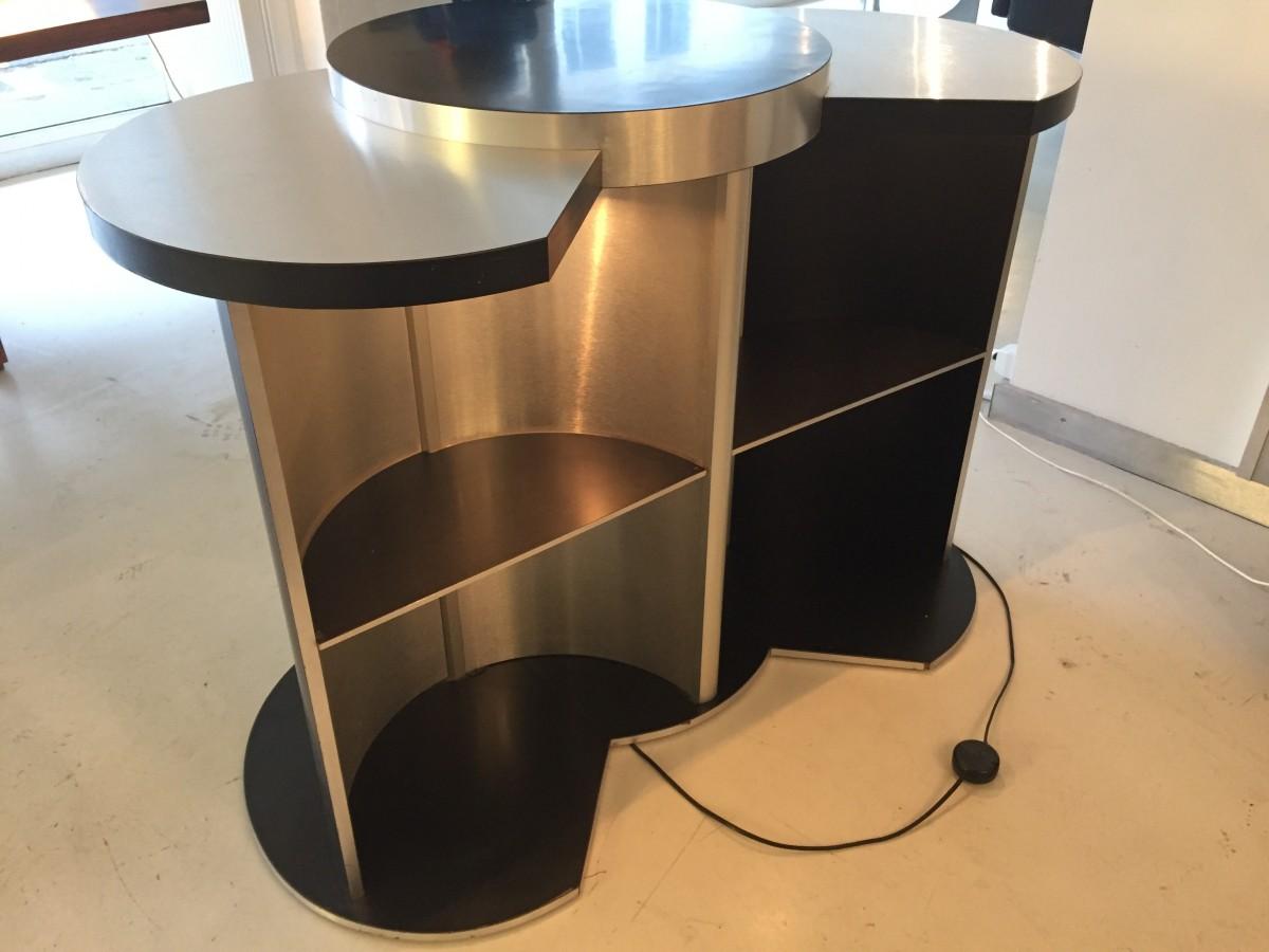 elastique vintage m bel furniture z rich schweiz hausbar von willy rizzo. Black Bedroom Furniture Sets. Home Design Ideas