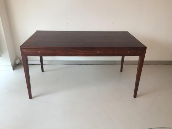Elastique Vintage Furniture Moebel Zuerich Schweiz Schreibtisch Desk Palisander Rosewood Severin Hansen Haslev Danish 1