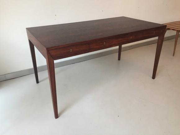 Elastique Vintage Furniture Moebel Zuerich Schweiz Schreibtisch Desk Palisander Rosewood Severin Hansen Haslev Danish 2