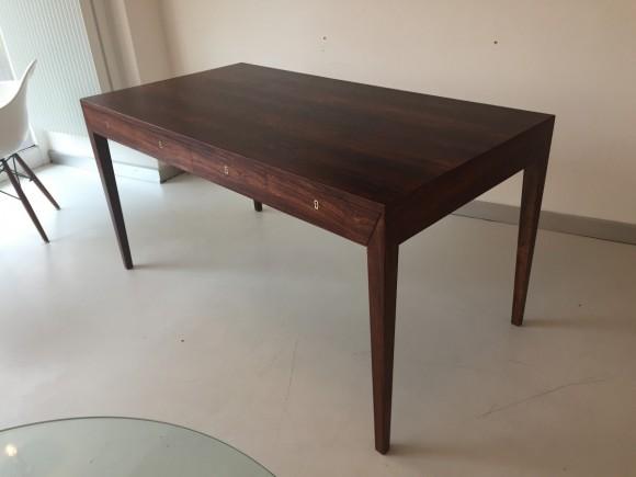 Elastique Vintage Furniture Moebel Zuerich Schweiz Schreibtisch Desk Palisander Rosewood Severin Hansen Haslev Danish 3