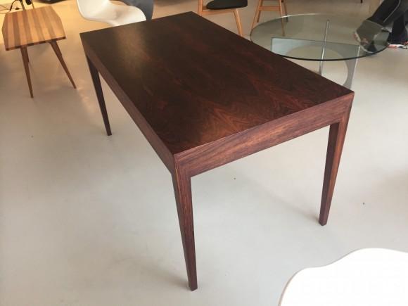 Elastique Vintage Furniture Moebel Zuerich Schweiz Schreibtisch Desk Palisander Rosewood Severin Hansen Haslev Danish 4
