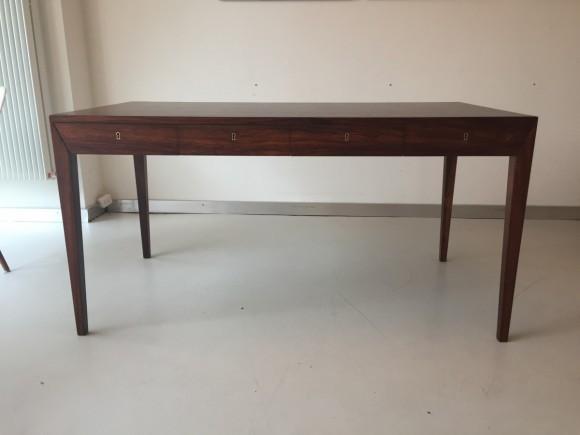 Elastique Vintage Furniture Moebel Zuerich Schweiz Schreibtisch Desk Palisander Rosewood Severin Hansen Haslev Danish 5