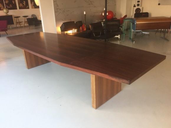 Konferenztisch 1960 Palisander Rosewood Table Elastique Vintage Moebel Zuerich Schweiz 1