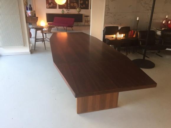 Konferenztisch 1960 Palisander Rosewood Table Elastique Vintage Moebel Zuerich Schweiz 2