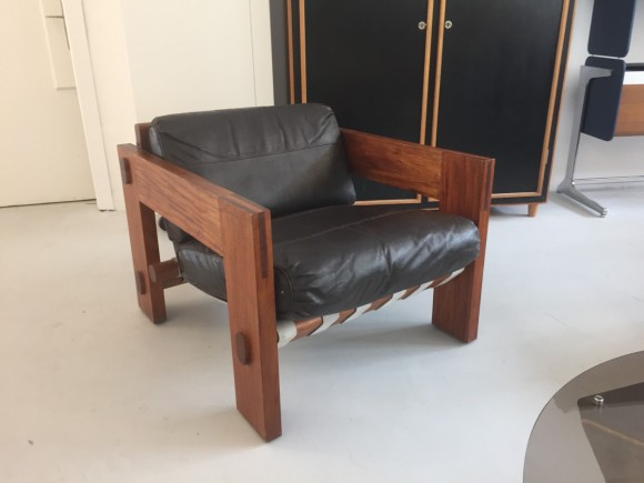 Sofa Brazil Style 1960 Belts Rosewood Elastique Moebel Furniture Zuerich Schweiz 4