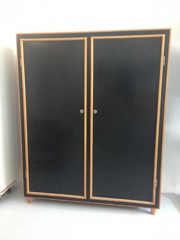 Will Guhl Schrank Pavatexschrank Elastique Vintage Moebel Furniture Zuerich 2