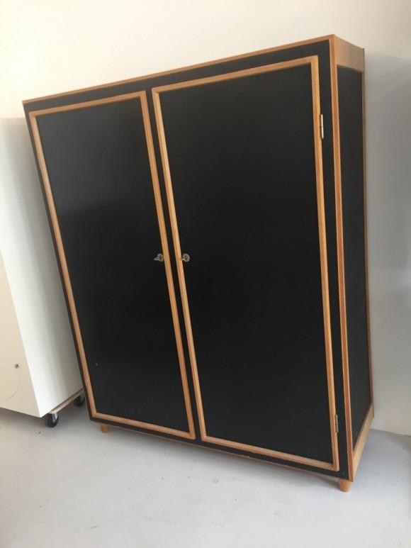 Will Guhl Schrank Pavatexschrank Elastique Vintage Moebel Furniture Zuerich 3