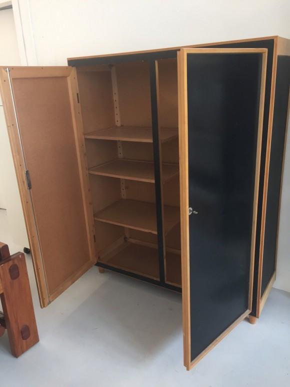 Will Guhl Schrank Pavatexschrank Elastique Vintage Moebel Furniture Zuerich 6