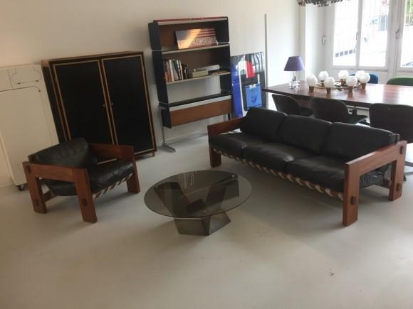 Sofa Brazil Style 1960 Belts Rosewood Elastique Moebel Furniture Zuerich Schweiz 7