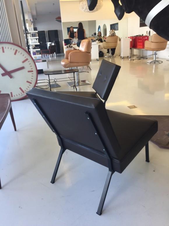 Bebek Sessel Chair Leder Leather Elastique Vintage Moebel Zuerich Schweiz 1