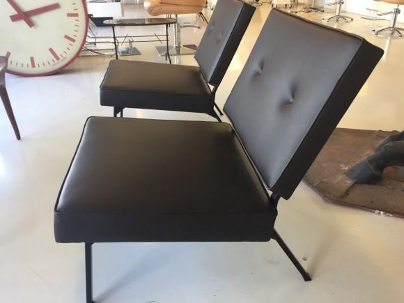 Bebek Sessel Chair Leder Leather Elastique Vintage Moebel Zuerich Schweiz 2