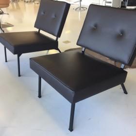 Bebek Chair in Leder (Neuprodukt)