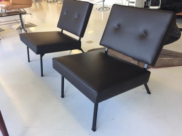 Bebek Sessel Chair Leder Leather Elastique Vintage Moebel Zuerich Schweiz 3