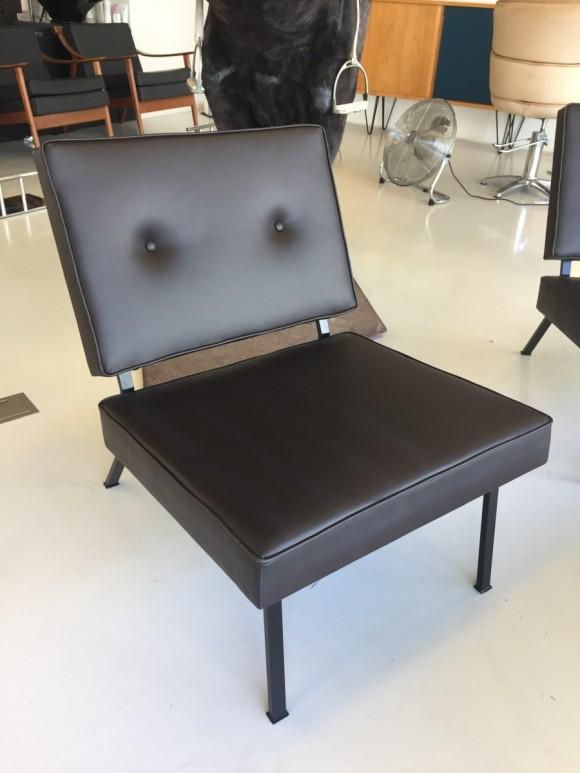 Bebek Sessel Chair Leder Leather Elastique Vintage Moebel Zuerich Schweiz 4