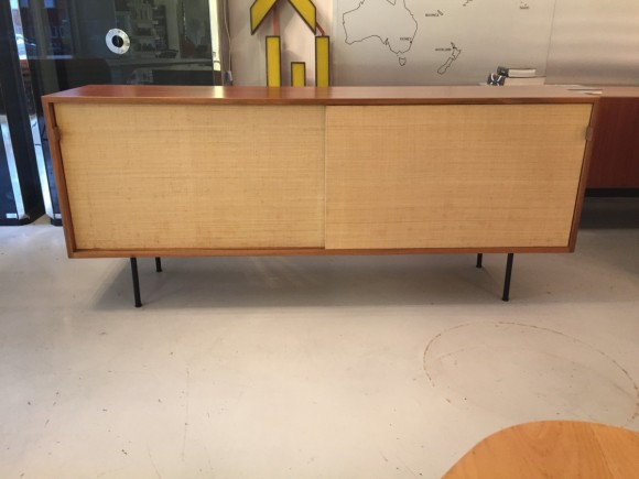 Florence Knoll Sideboard Credenza Cabinet Elastique Vintage Moebel Zuerich Schweiz 1