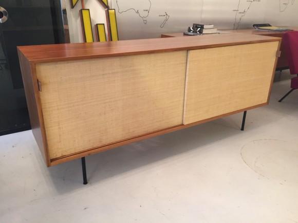 Florence Knoll Sideboard Credenza Cabinet Elastique Vintage Moebel Zuerich Schweiz 3