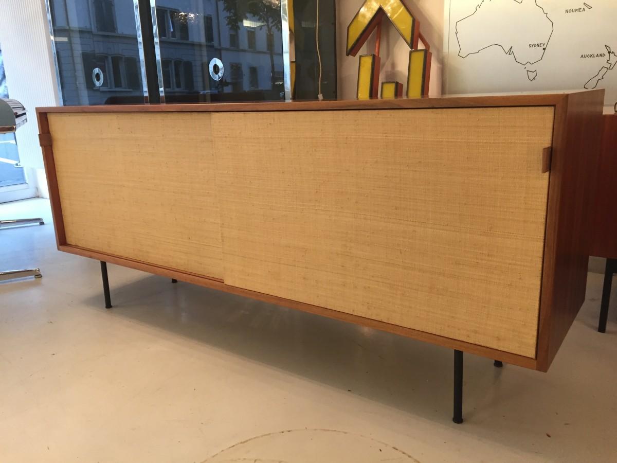 Frühes Florence Knoll Sideboard Elastique Zürich Vintage Möbel
