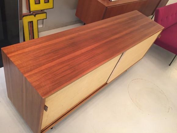Florence Knoll Sideboard Credenza Cabinet Elastique Vintage Moebel Zuerich Schweiz 5