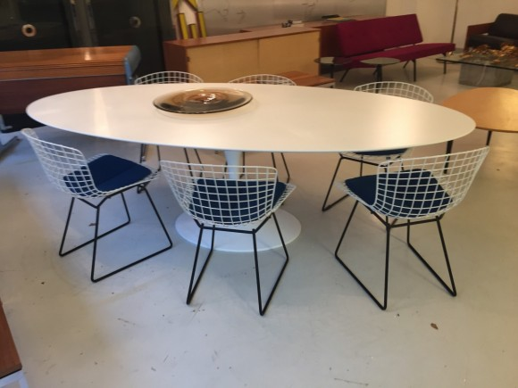 Harry Bertoia Dining Chairs Knoll Elastique Vintage Moebel Zuerich Schweiz 2