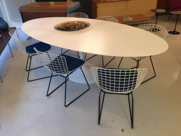 Harry Bertoia Dining Chairs Knoll Elastique Vintage Moebel Zuerich Schweiz 3