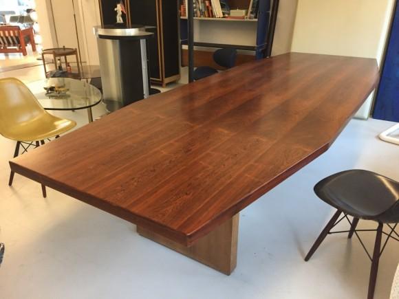 Konferenztisch 1960 Palisander Rosewood Table Elastique Vintage Moebel Zuerich Schweiz 4
