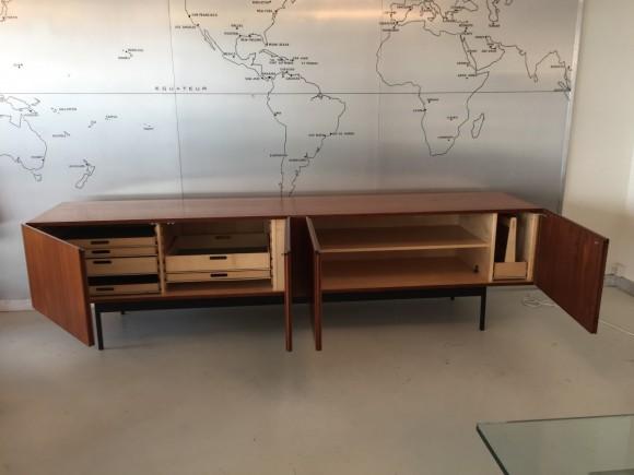 Sideboard Cabinet Dieter Waeckerlin B40 Idealheim Teak Elastique Vintage Moebel Zuerich Schweiz 3