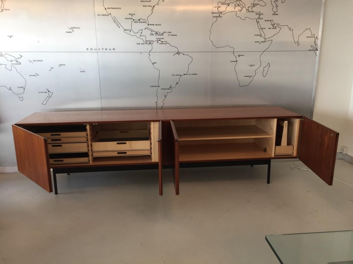 Dieter Waeckerlin Sideboard B40 Elastique Zürich Vintage Möbel