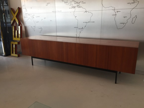 Sideboard Cabinet Dieter Waeckerlin B40 Idealheim Teak Elastique Vintage Moebel Zuerich Schweiz 5