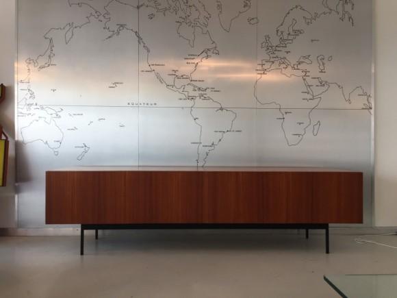 Sideboard Cabinet Dieter Waeckerlin B40 Idealheim Teak Elastique Vintage Moebel Zuerich Schweiz 6