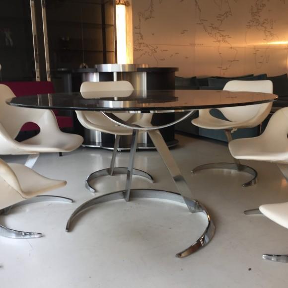 Boris Tabacoff Tisch St  Hle Elastique Moebel Zuerich Schweiz 8