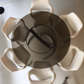 Boris Tabacoff Tisch und Stühle