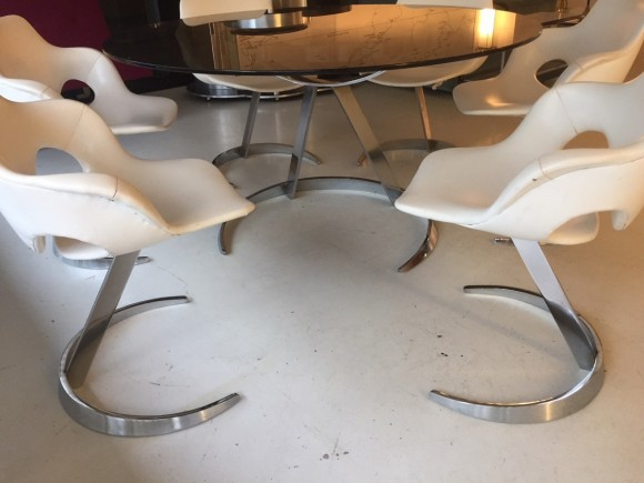 Boris Tabacoff Tisch St  Hle Elastique Moebel Zuerich Schweiz 5