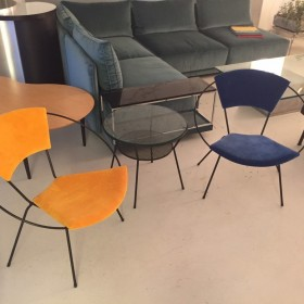 Cosmos Chair + Table by elastique